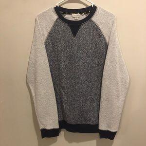 Guess sweatshirt lightweight soft blue and gray